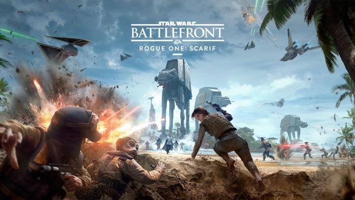 Star Wars バトルフロント:4種のマップを含む拡張パック「ローグワン: スカリフ」は12月6日解禁、映画「ローグ・ワン」と連動