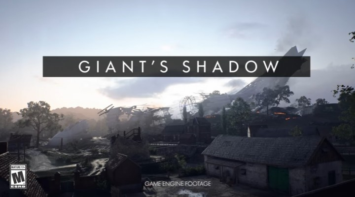 BF1: 無料マップ「Giant's Shadow」のお披露目トレーラー公開、12月13日先行解禁