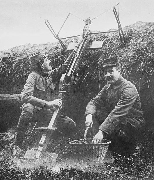 実際の使用シーン(1915)