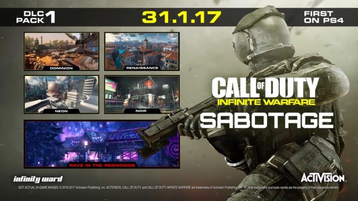 CoD:IW:第1弾DLC「SABOTAGE」のXbox One / PC版が3月2日に配信決定