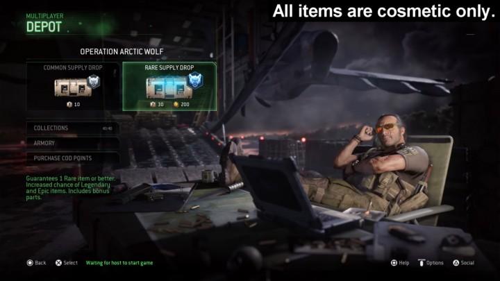 CoD:MWR:なんとサプライドロップが登場、新格闘武器・武器の外観変更キット・迷彩・レティクル・コーリングカード・エンブレムなど