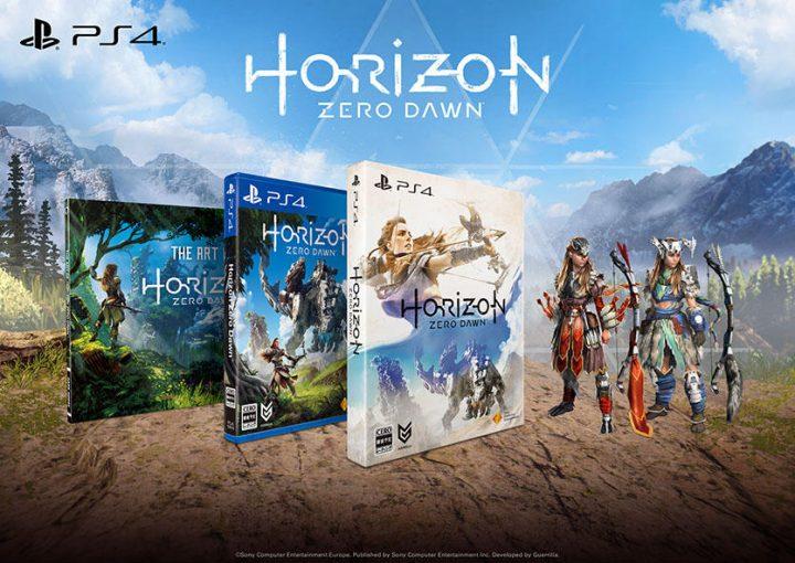 『Horizon Zero Dawn』 :初回特典が更に豪華に、発売日は2017年3月2日