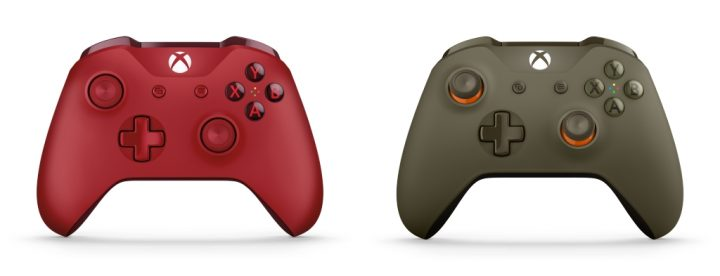 """Win10とワイヤレス接続が可能な「Xbox ワイヤレス コントローラー」2 製品、""""レッド""""と""""グリーン / オレンジ""""が2月26日発売"""