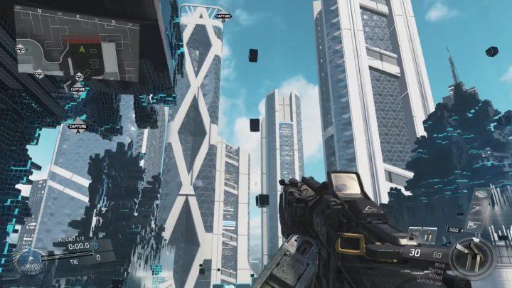 """CoD:IW: 第1弾DLC「Sabotage」に含まれる新マップ""""Neon""""のプレイ映像が登場、都市圏での戦闘を想定した""""仮想空間"""""""