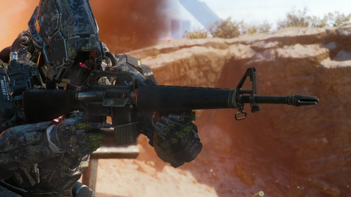 CoD:BO3:バレンタインアップデートの新武器「M16」「PPSH」と血塗れ武器迷彩の日本版トレーラー