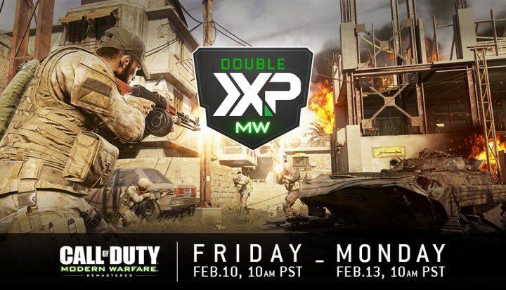 CoD:MWR: 今週もダブルXPと新プレイリストを開催、