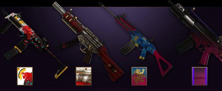 R6S ベルベットシェル武器スキン