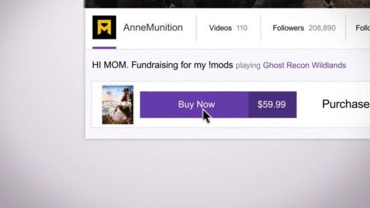 ゲーム配信最大手のTwitchで配信者がプレイしているゲームがその場で購入可能に、今春にスタート