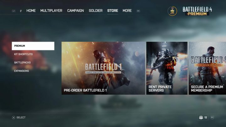 BF4:『Battlefield 4』用の新ユーザーインターフェイスを2017年春に導入(PC)