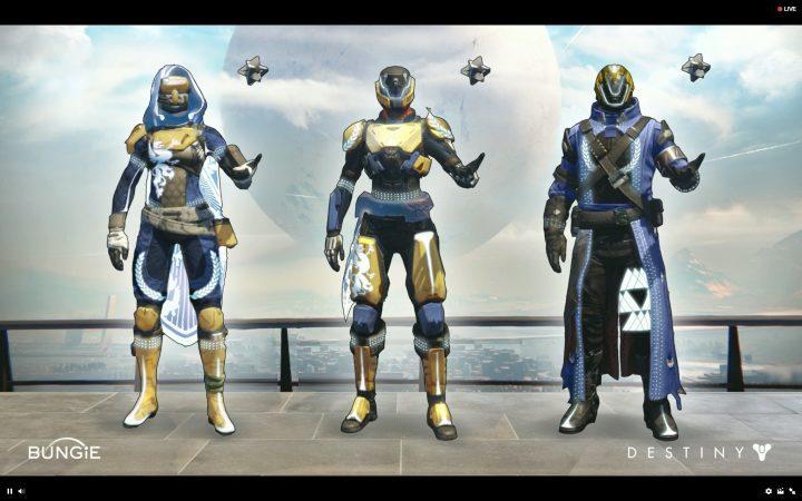 Destiny 「勝利の時代」クロマ装備