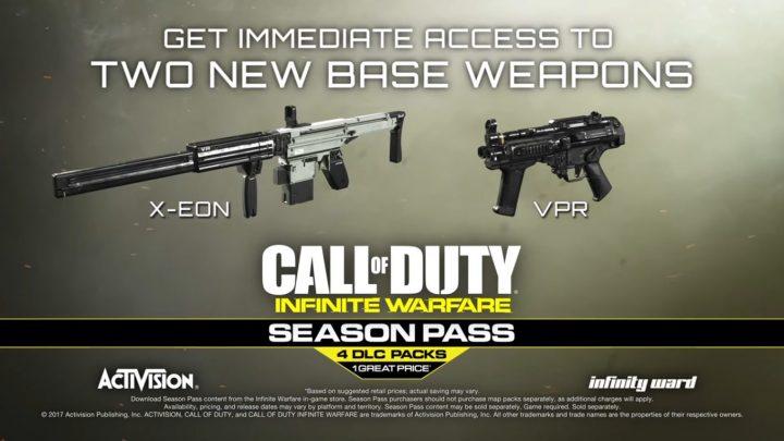 CoD:IW:2種の新武器、エネルギーAR「X-EON」と実弾SMG「VPR」が無料配信