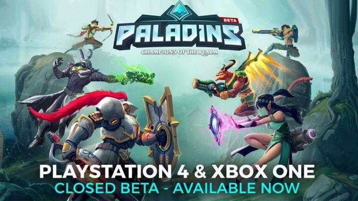 基本無料FPS『Paladins』:PS4/X1版クローズドベータテストがいよいよ開始、パックの25%OFFセール中(海外)