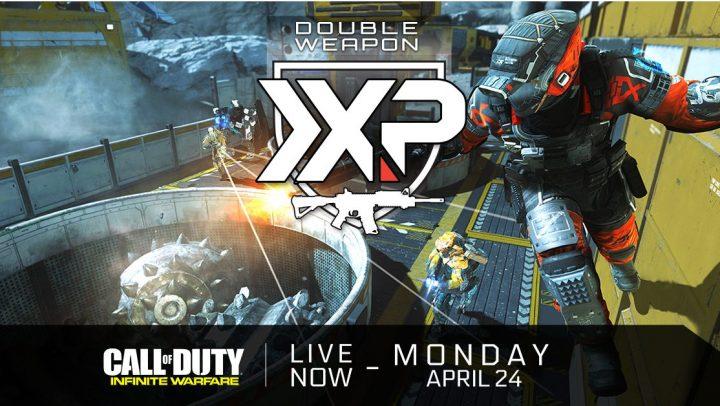 CoD:IW:ダブル武器XPイベント開始、4月25日まで