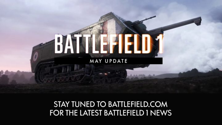 BF1: 「5月アップデート」は本日配信、銃剣突撃弱体化やビークル調整など多数の変更