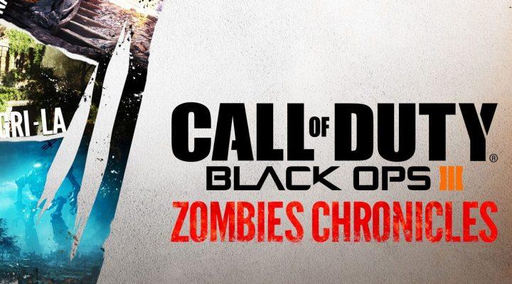 CoD:BO3:DLC「Zombies Chronicles」は29.99ドル、8つのリマスターマップや10種のゴブルガムと迷彩が付属し、シーズンパスには含まれず