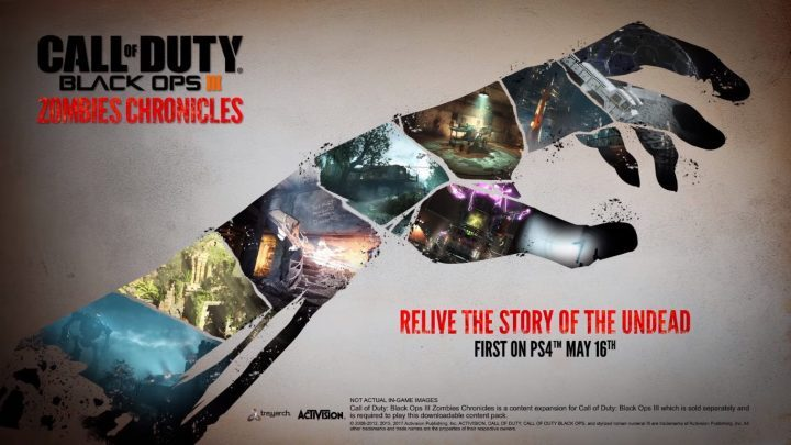 Call of Duty Black Ops III Zombies Chronicles Keyart