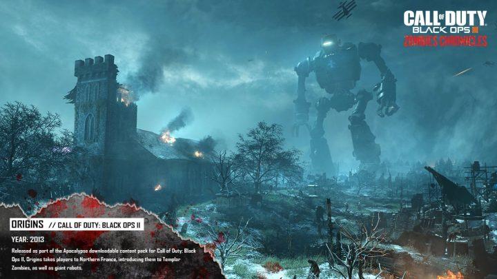 "CoD:BO3:""Zombies Chronicles""でリメイクされるマップ「Origins」の比較動画&画像"