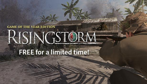 リアルな日本軍でプレイ可能な『Rising Storm』GOTY版が無料配布中、今日まで