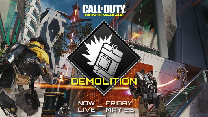 CoD:IW:爆弾ゲームモード 「Demolition(デモリッション)」が期間限定で再登場