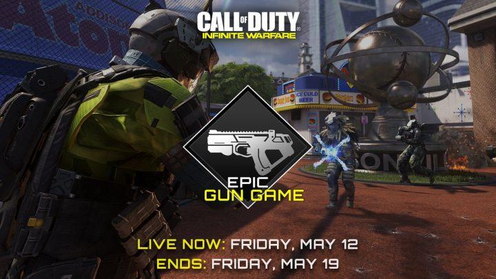 CoD:IW:エピック武器が使えるゲームモード「Epic Gun Game」再登場、5月20日まで
