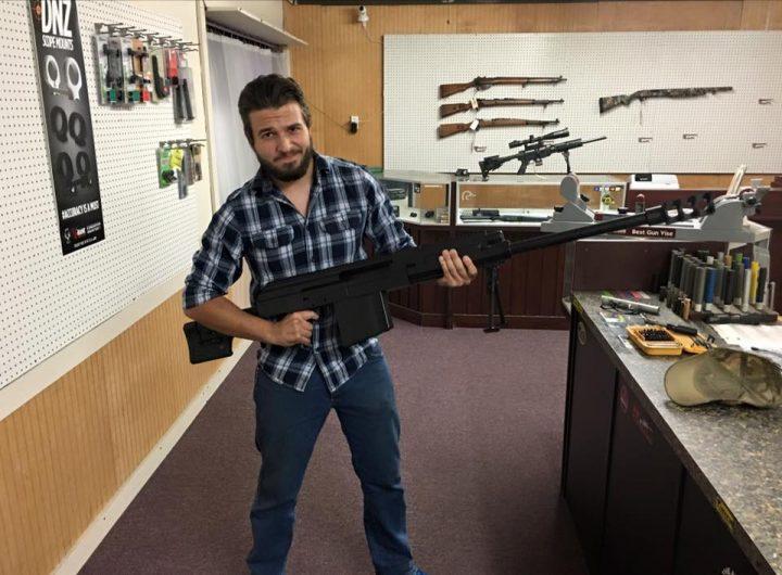 【でかすぎ】AKライフルを無理やり50口径にした夢の「AK-50」、初の射撃実験に成功