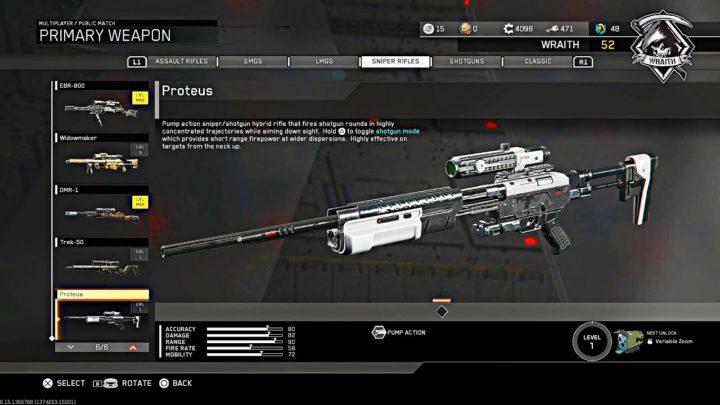 CoD:IW:チート 級武器「Proteus」に早速調整