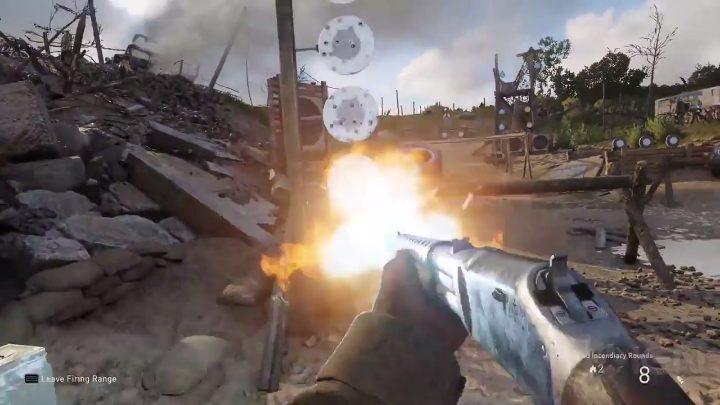 CoD:WWII: 「射撃場」のプレイ映像公開、多数の武器の使用シーンあり