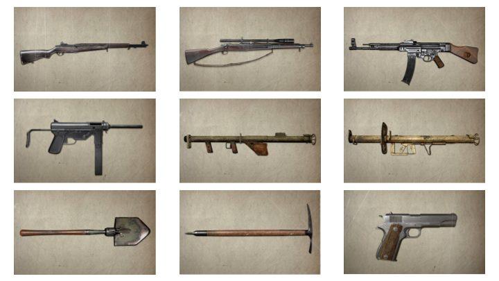 CoD:WWII: 現在までに判明している全25種の武器や装備まとめ