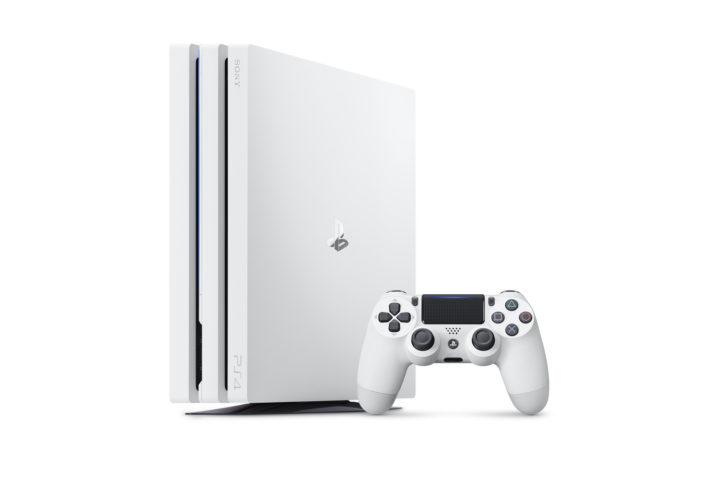 PS4 Pro初のカラーバリエーション「グレイシャー・ホワイト」 、2017年9月6日より国内で数量限定発売