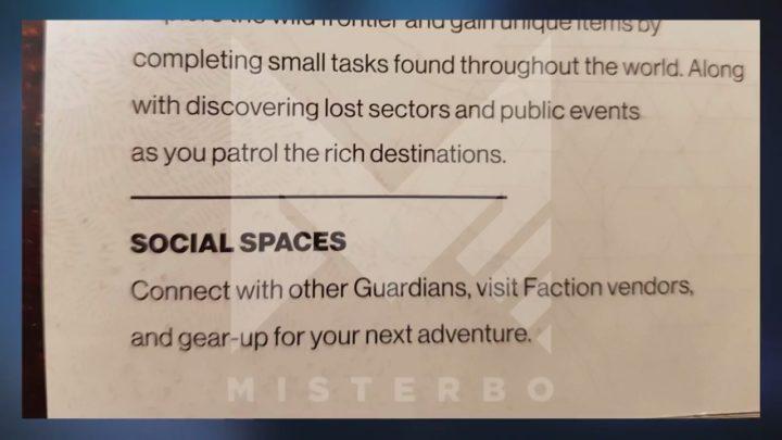 Destiny 2:ローンチ時のPvPは全て4vs4となり5種のルールと10種マップが登場、「奥地」以外にもソーシャルスペースが存在か?