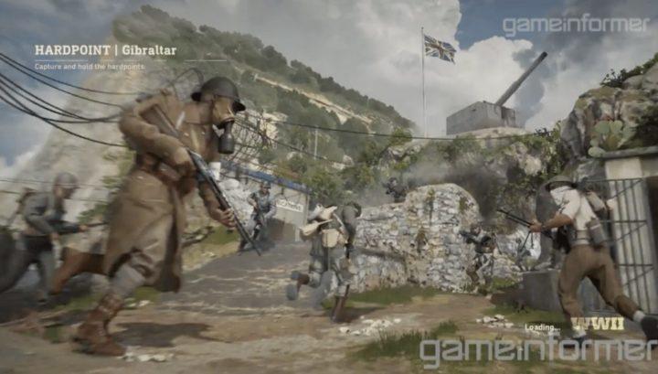 CoD:WWII: ゲームモード「ハードポイント」のプレイ映像初公開