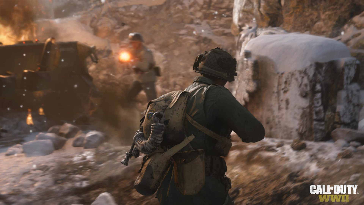 CoD:WWII: ベータ第2週では新マップ「Aachen」やCTFを追加、レベル上限の引き上げなども実施