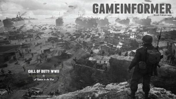 CoD:WWII:ゲームモード「ハードポイント」・未公開マップ・武器のレベルアップ映像など確認、GameInformerトレーラーより