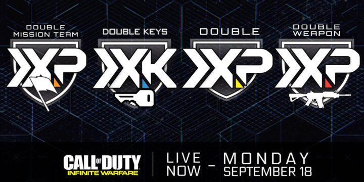 CoD:IW:第4弾DLC「Retribution」にて4つのダブルイベントが一挙開催中