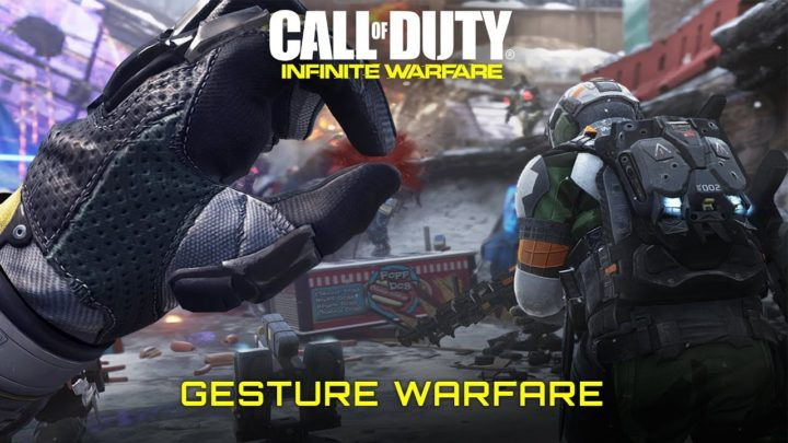 CoD:IW:ジェスチャーで敵を倒せ!ぶっ飛んだ愉快な新モード「Gesture Warfare」が9月22日から期間限定登場