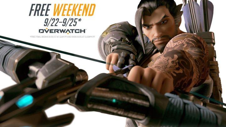 オーバーウォッチ:無料プレイイベント開催、9月23日~26日まで(PC/PS4)