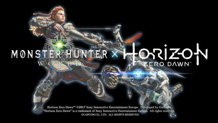 夢コラボ:『モンスターハンター:ワールド』と『Horizon Zero Dawn』のコラボ開催決定