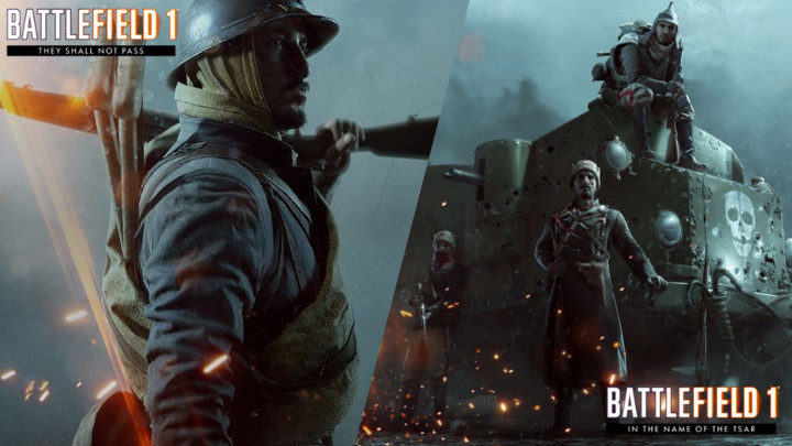 BF1: 拡張パック第1弾・第2弾「They Shall Not Pass」「In the Name of the Tsar」のフリートライアルが現在実施中