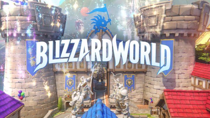 オーバーウォッチ:新ハイブリッドマップ「Blizzard World」、1月23日に開園