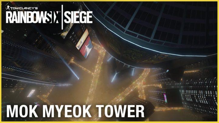 レインボーシックス シージ:新マップ「Mok Myeok Tower」のティザー動画公開、ソウルに実在する建造物がモデル