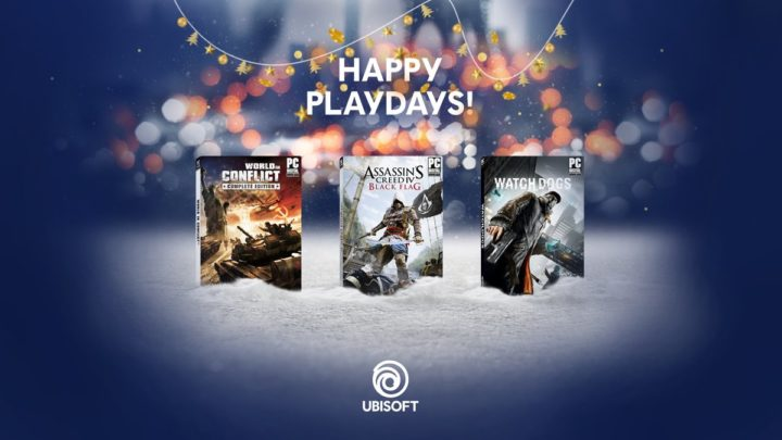 PC版『ウォッチドッグス』『アサシン クリード IV 』『World in Conflict』無料配布中、12月23日まで