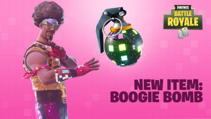 フォートナイト バトルロイヤル: 愉快なダンス強制グレネードBoogie Bombが強すぎて弱体化、今後さらなる調整を検討