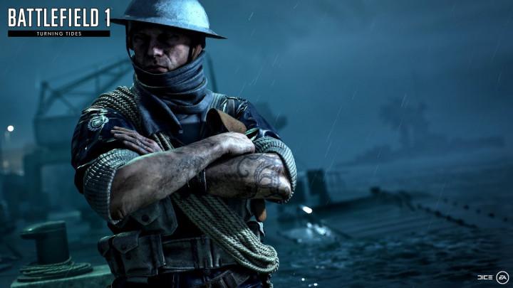 BF1: 第3弾拡張パック「Turning Tides」第2波コンテンツ配信開始、新マップ2種とイギリス海兵隊追加