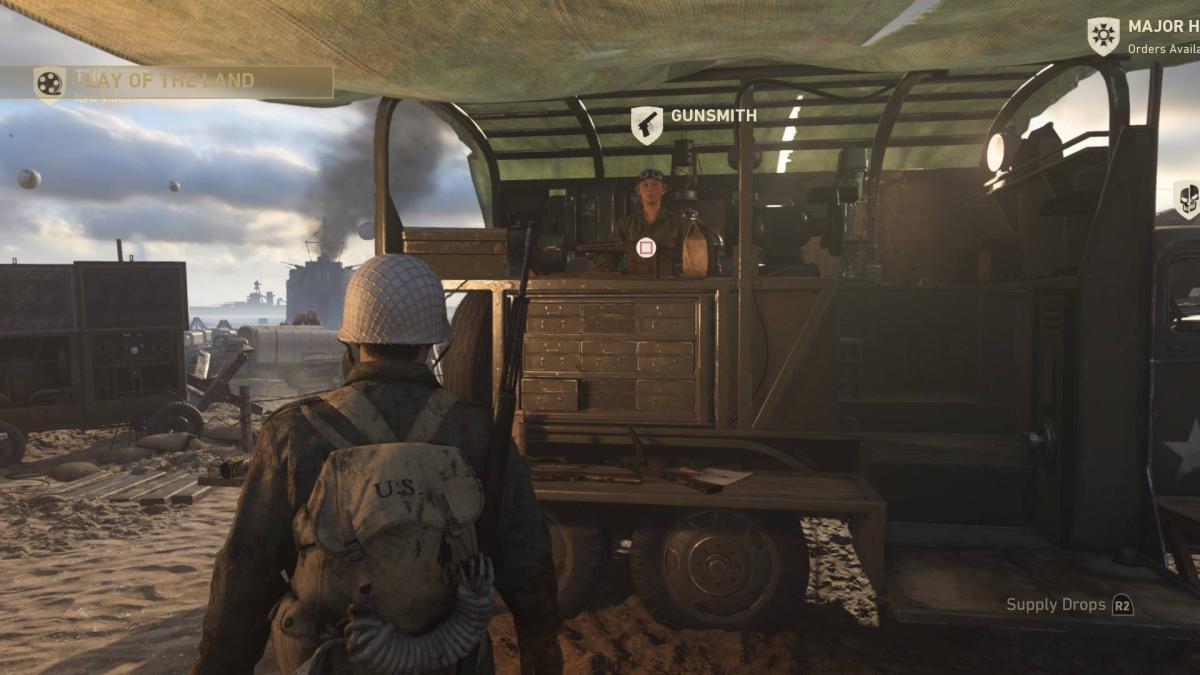 CoD:WWII: ペイントジョブは第1弾DLC「レジスタンス」と同時に追加?