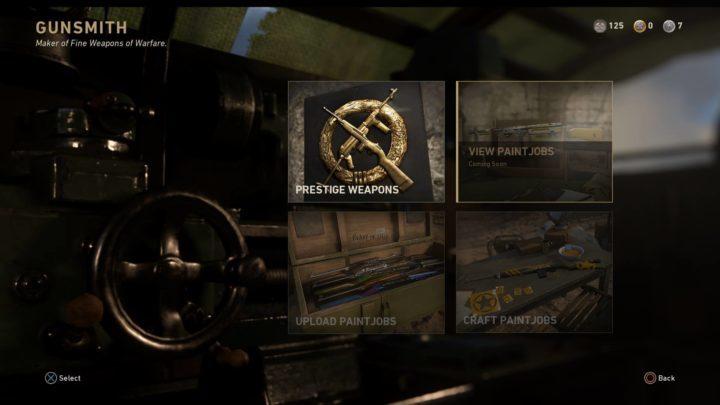 CoD:WWII: エンブレムギャラリーとペイントジョブがイベント「レジスタンス」で追加か?