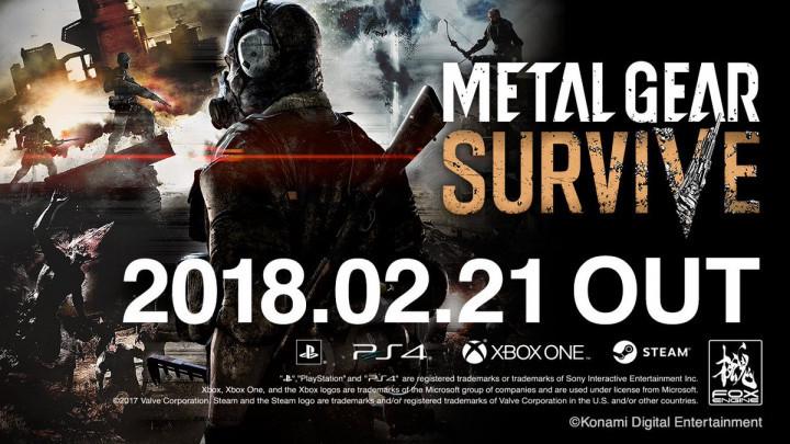 本日発売:『METAL GEAR SURVIVE』ローンチトレーラー公開、巨大怪獣やエイリアンも登場