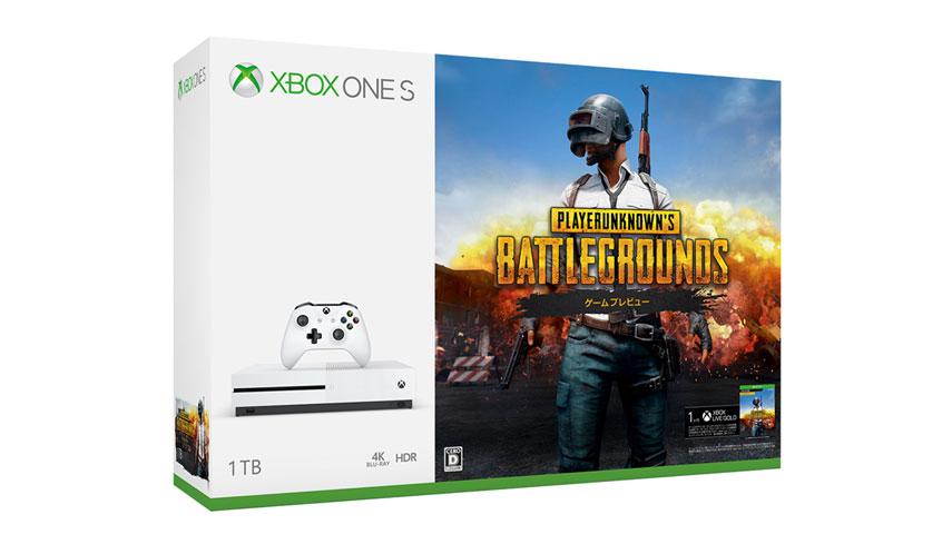 『PUBG』同梱版 Xbox One S が2月20日発売、価格は29,980円