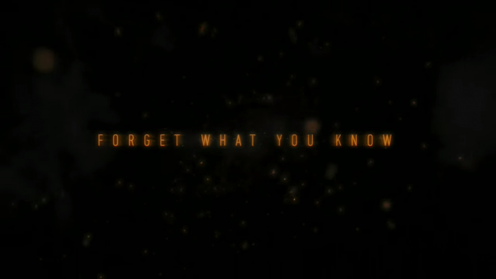 Forget What You Know