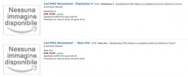 CoD:MW2R:『Call of Duty: Modern Warfare 2 リマスタード』が登場か、発売日は4月30日