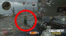 CoD:WWII: 妖精を倒すと「全ストリーク一挙獲得」? 新モード「レプラコーンハント」で妖精を倒す瞬間